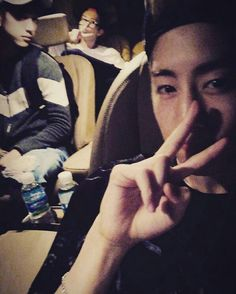 Junior, Youngjae, and Mark #markinstagram
