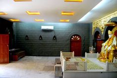 it resembles much similar to the holy temple of Sai Baba, so that the visitors feel themselves embraced in the blessings of Sai Baba throughout their experience in Hotel Sai Sahavas, Shirdi .