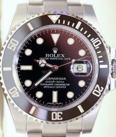 Rolex Submariner - 116610 with ceramic bezel