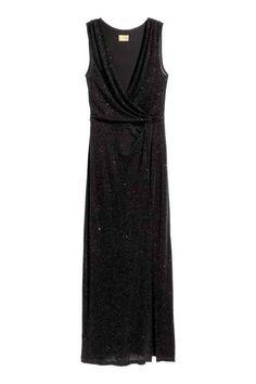 Glittery maxi dress