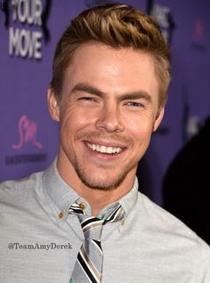 how is this for a great Hough day...? that smile.. Derek.. that smile.. :)