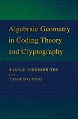 Algebraic geometry in coding theory and cryptography / Harald Niederreiter and Chaoping Xing. 2009. Máis información: http://press.princeton.edu/titles/9103.html