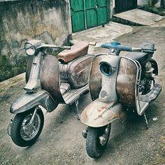 Image result for rusty lambretta