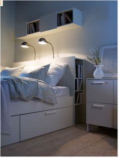 Ikea    DOUBLE BED WITH STORAGE DRAWERS. COSTS ABOUT P15-20K HERE. (ABOUT USD500) BED FRAME ONLY