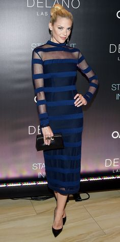 Look of the Day - September 19, 2014 - Jaime King in Charlotte Ronson from #InStyle