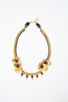 Lizzie Fortunato Gold Bon Chic Necklace