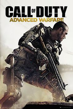 Póster Call od Duty Advanced Warfare Póster perteneciente al popular videojuego basado en la undécima entrega Call of Duty Advanced Warfare.