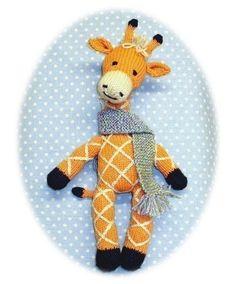 Adorable knitted giraffe :-)