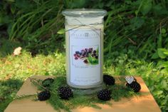 A Luscious blackberries intermingled with subtle hints of fresh cut herbs.    This is one of my top 5 favorites as it truly is the scent of blackberries and sage! It will make your home smell amazing!    Inside every candle is a hidden jewel that can be worth anywhere from $10 to $7500.You could ...