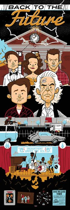 Back to the Future Trilogy by Ian Glaubinger 12″ X... | XombieDIRGE