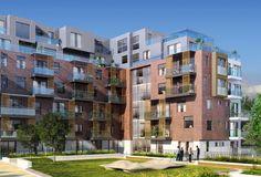 New homes at Edgware Green, Edgware from Barratt London