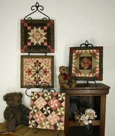 Quilted Pictures #5.  From my heart to your hands: Quilt Designs by Lori Smith