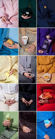 Wardrobe Snacks by photographer Kelsey McClellan and set stylist Michelle Maguire. Wardrobe Snacks, a collaboration between photographer Kelsey McClellan and set stylist Michelle Maguire. Look at these well arranged color combinations Still Life Photography, Color Photography, Portrait Photography, Fashion Photography, Product Photography, Wedding Photography, Colourful Photography, Photography Reflector, Poster Photography