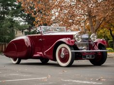 Rolls-Royce Phantom II Torpedo Sports by Barker '1930