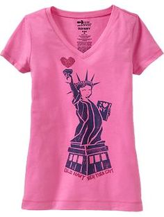 Girls New York Graphic Tees | Old Navy