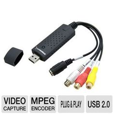 Sabrent USB-AVCPT USB Video Capture Device
