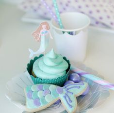 Mermaid Party Birthday Party Favors, Birthday Party Decorations, Birthday Parties, Underwater Party, Happy Wishes, Mermaid Birthday, Party Cakes, Party Supplies, Party Ideas