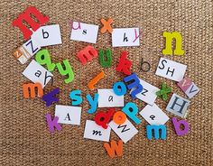 mixed font letters - 20 fun ways to learn the alphabet
