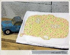 DRY IT. vintage camper dish towel by redneckchic on Etsy