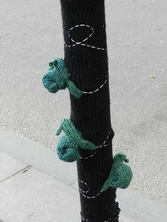 Yarn Bomb - TRUNK project by Twilight Taggers, via Flickr
