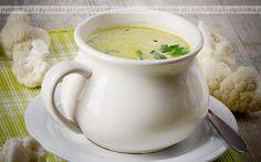 Zupa z kurczaka i kalafiora