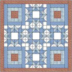 Diamond Star Quilt Pattern