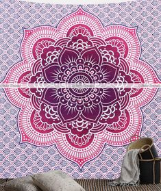 Eye Catching Boho Tapestry Plans for 2019 & Beyond Bohemian Tapestry, Mandala Tapestry, Boho Gypsy, Hippie Boho, Wall Tapestry, Tapestry Bedding, Tapestries, Duvet Bedding Sets, Queen Size Bedding