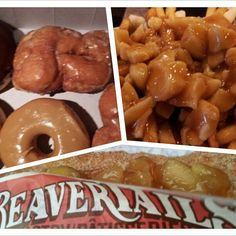The 'Canadian Trifecta' - donuts, poutine, and BeaverTails pastries :)  Photo by nycinorl
