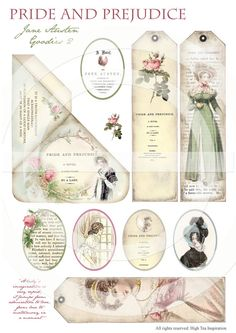 ¨¨¨°º©©º°¨¨¨¨¨¨°º©©º°¨¨¨¨¨¨°º©©º°¨¨¨¨¨¨°º©©º°¨¨¨¨¨¨°º©©º°¨¨¨¨¨¨    JANE AUSTEN GOODIES 2 - Collection of bookmarks and tags inspired by Austens