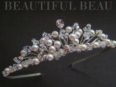 Hey, I found this really awesome Etsy listing at https://www.etsy.com/listing/198585228/bridal-wedding-tiara-bridal-headpiece