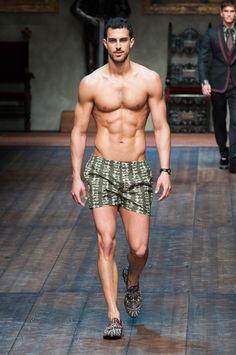 Clint Mauro for Dolce & Gabbana FW 2015