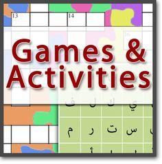 Studio Arabiya - Studio's Resource Center - Arabic Games and Activities #arabic #arabicgames #studioarabiya