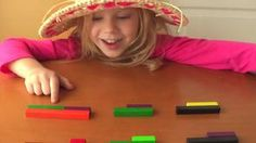 Videos of cuisenaire rod activities