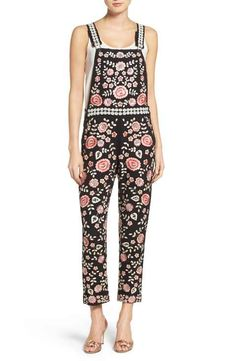 65a2e7b123 Needle   Thread Embroidered Overalls Trouser Jeans