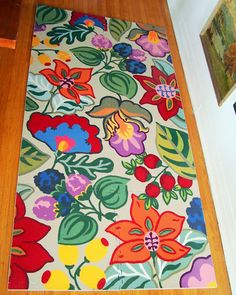 Hand Painted Car Rugs Etsy