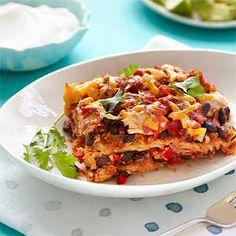 Tastiest Main Dish Casseroles   Black Bean and Chicken Casserole   MyRecipes