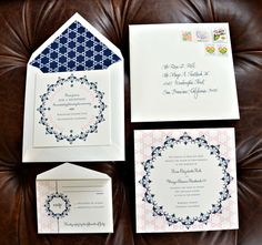 Rose and Mayo's Wedding invitation suite!