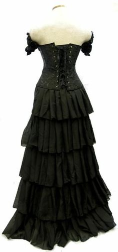 I found 'Mourning Belle Set Gothic Dress' on Wish, check it out!    GORGEOUS!