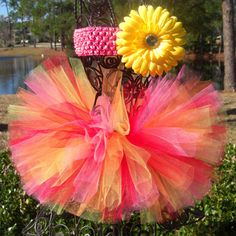 red pink and orange wedding - Google Search