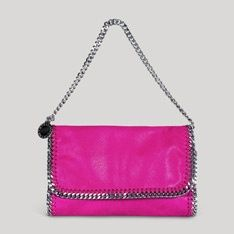 Trendy Women's Purses :   Falabella Shaggy Deer Clutch    - #Bags