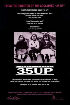 35 Up , starring Bruce Balden, Jacqueline Bassett, Symon Basterfield, Andrew Brackfield. Director Michael Apted revisits the same group of British-born adults after a 7 year wait. The subjects... #Documentary #Biography