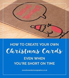 Sending Christmas cards to clients is a lovely way to show your appreciation. If you want to send them something personal to your brand I've got 3 ways you can create your own Christmas cards even when you're short on time.