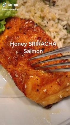 Salmon Recipes, Fish Recipes, Seafood Recipes, Vegetarian Recipes, Cooking Recipes, Healthy Recipes, Salmon Recipe Videos, Comida Diy, Food Porn