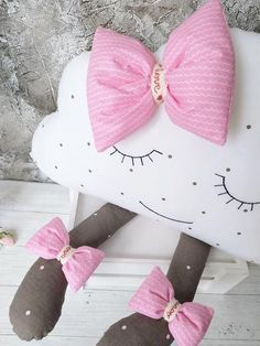 Your place to buy and sell all things handmade Cloud Cushion, Cloud Pillow, Cushion Pillow, Sewing For Kids, Baby Sewing, Cloud Decoration, Smocking Patterns, Sewing Pillows, Baby Pillows