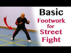 Basic footwork for street fight - YouTube