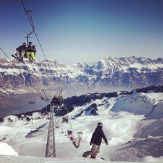Views on Flumserberg Switzerland Switzerland, Mount Everest, Skiing, Mountains, Winter, Places, Nature, Travel, Beautiful