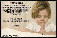 Oracion para LOS AMIGOS