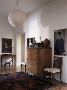 s-c-r-a-p-b-o-o-k:The apartment of illustrator Mats Gustafson...
