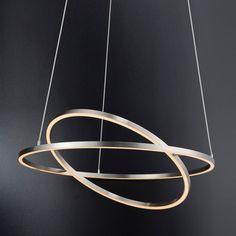 Suspension LED Inigo - Fer Argenté