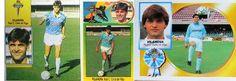 Los cromos de Tito Vilanova y un Maradona en Vallecas